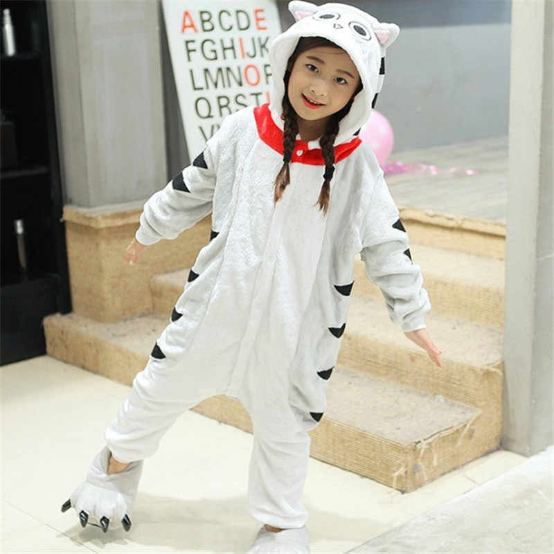 c79e4296a6bc Detail Feedback Questions about Pink Kitty Cat Kid Pajamas Cartoon ...
