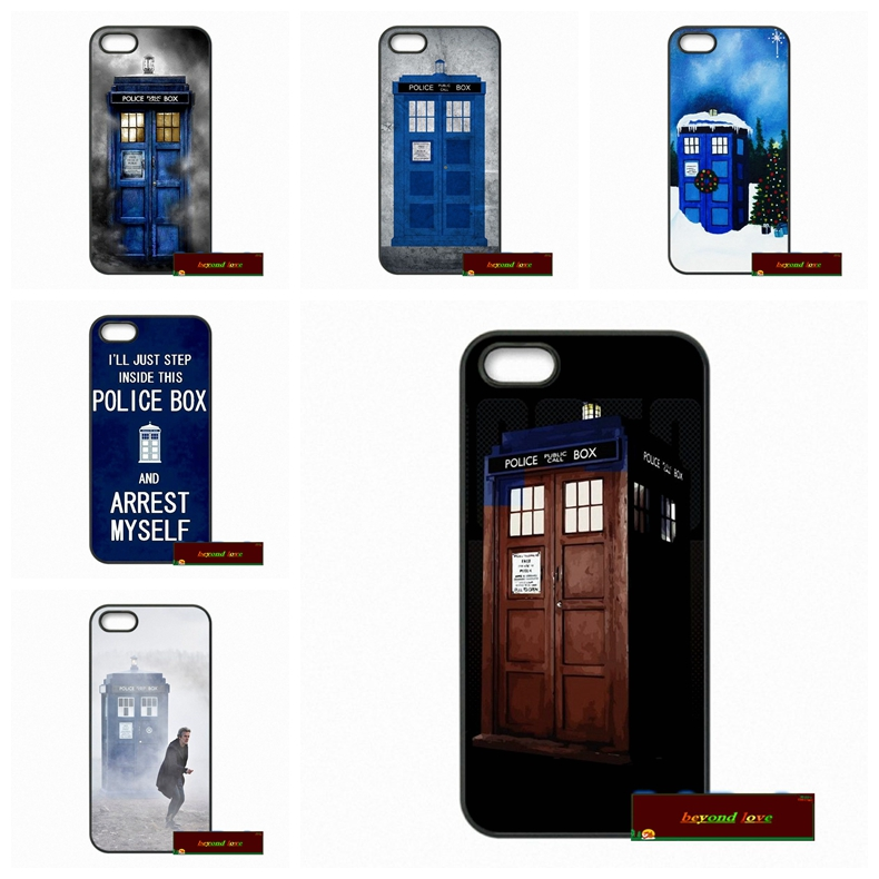 Phone Cases Cover For iPhone 4 4S 5 5S 5C SE 6 6S 7 Plus 4.7 5.5 Doctor Who police box Call Box Case Cover