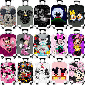Protective-Cover-Case Suitcase Luggage Travel-Accessories Elastic Mickey Minnie 18-32inch