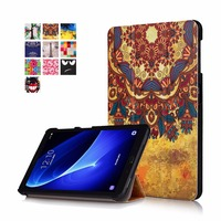 For Samsung Galaxy Tab A 10 1 A6 T580N T585C Fashion Painted Protective Stand Case For