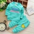 2015 Письмо Детские Дети Мальчики Длинные Полные Штаны Топы Пуловер Комплект Одежды Костюмы 2 Шт. Случайный Набор S1352
