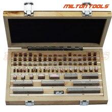1.005-100mm 0 Grau Bitola Bloco bloco inpsection 83 pçs/set, 1 grau 83pcs preto gage inspeção ferramentas de medição