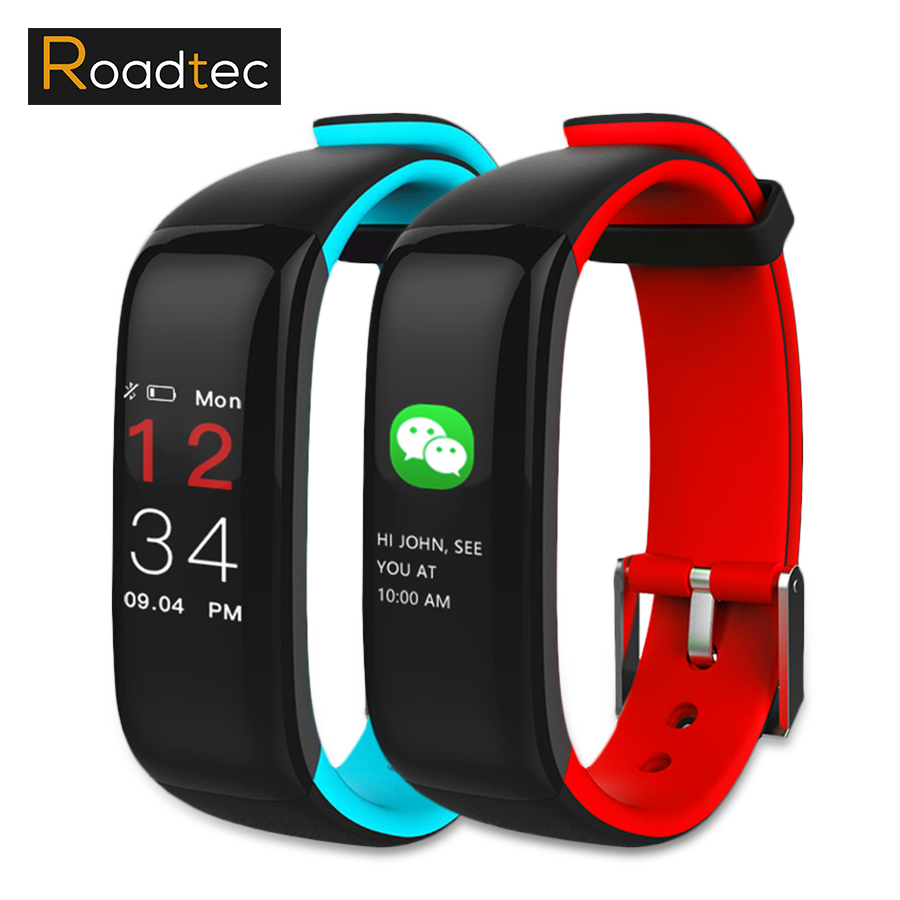 ROADTEC P1 Plus smartband Intelligent Bracelet Sport de Fréquence Cardiaque Fitness Tracker Montre Smart Watch pour IOS Android Smart Bracelet
