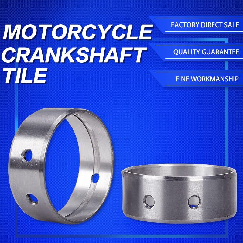 2PCS/Set Engine Main Crankshaft Crank Shaft Bearing For Honda Steed400 Steed600 BROS400 SHADOW400 STD Oversize 0.25 0.5 0.75mm
