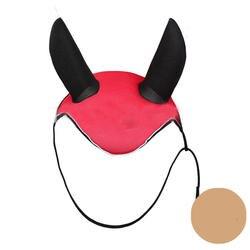 Верховая езда дышащая Мешхед Лошадь уха крышка отражатель открытый конные оборудования верховой езды Cheval Paardensport