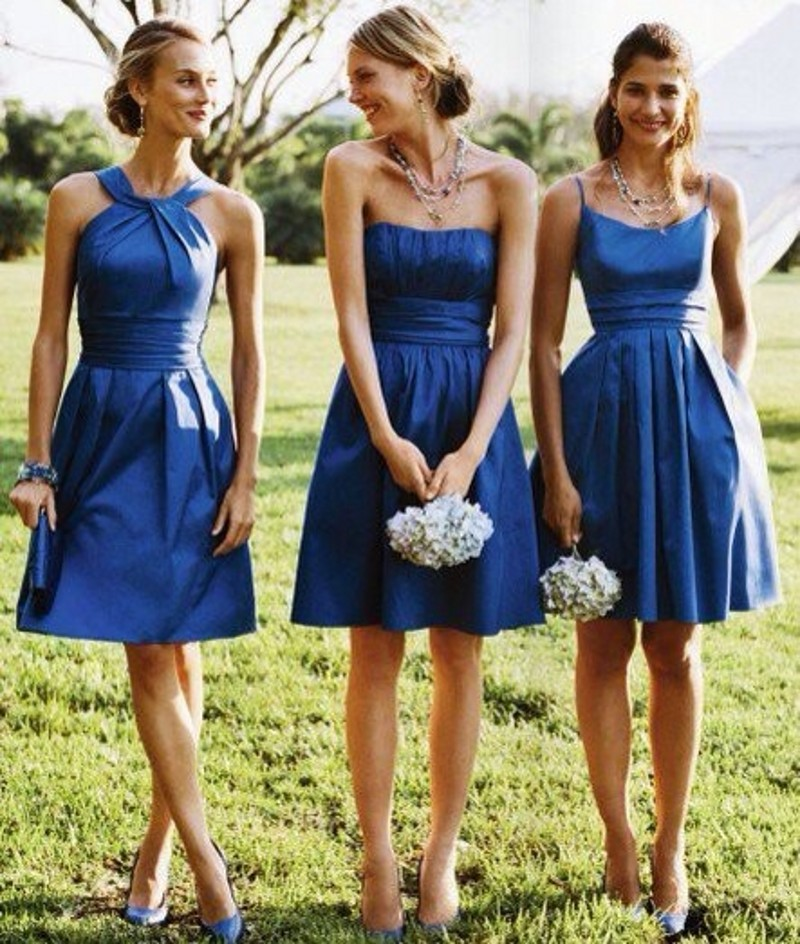 3 different style bridesmaid dresses styles