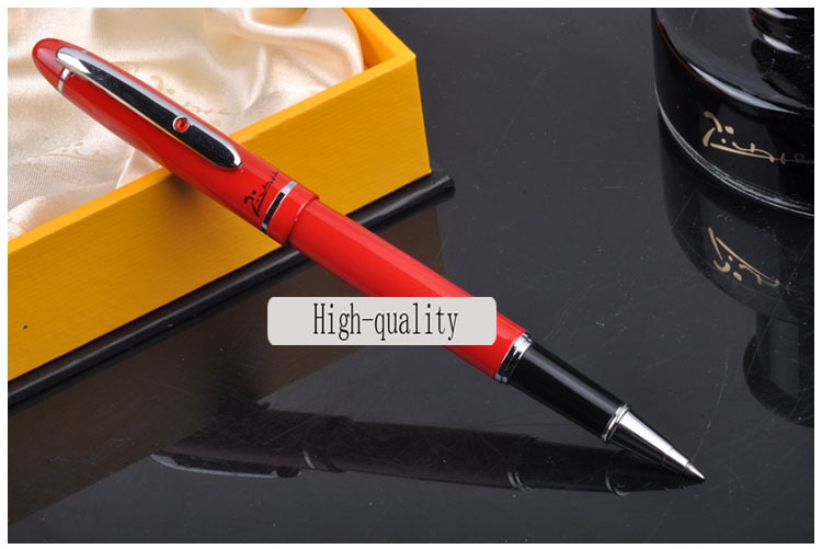 red Picasso Ballpoint Pen high quality roller ball pen Office and school Writing Supplies gel pens business gift free shipping tercel metal roller ball pens school office supplies creative gel pens luxury chancery gift signature pen writing high grade
