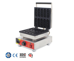 Waffle Pie Machine Food machinery Childrens  truck DIY Microfood tool cookies Household/commercial bake oven cake clang