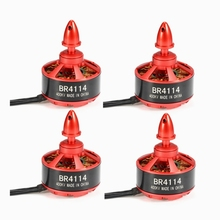 High Quality 4pcs/lot Racerstar Racing Edition 4114 BR4114 400KV 4-8S Brushless Motor For 600 650 700 800 RC Frame Kit