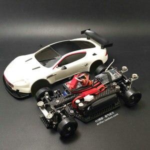 Image 2 - MINI D1/28RC ארבעה גלגל כונן AWD הודעה כונן RWD הפתוח גלגל כונן במהירות מרחוק  נשלט חשמלי דגם