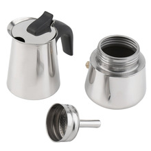 2/4/6 cups High quality Moka coffee kettle maker/moka pot,Espresso kettles makers pot stainless steel moka machi
