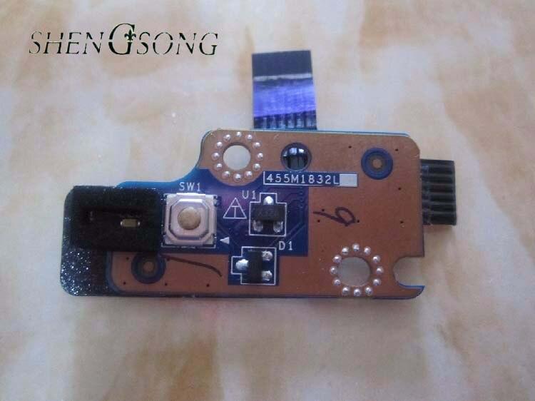 Bouton D'alimentation d'origine et Fonction Conseils w/Câble Pour HP envy4-1000 envy6-1000 ordinateur portable LS-8663P pour ENVY 4 Pour ENVY 6