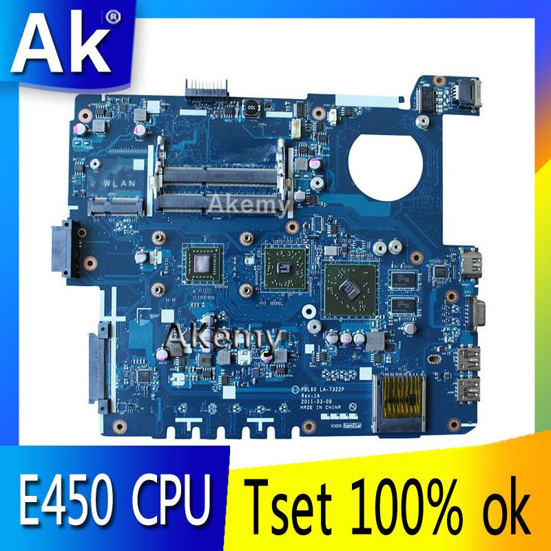 AK X53B Laptop motherboard for ASUS X53B K53B X53BY X53BR K53BR K53BE Test original mainboard PBL60
