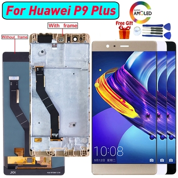 For Huawei P9 Plus AMOLED Display LCD Screen Digitizer Assembly For Huawei VIE-L09 VIE-L29 P9 Plus SUPER AMOLED display screen