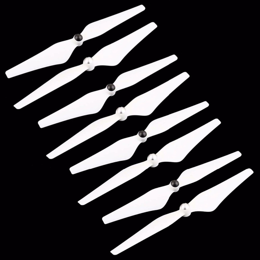 8pcs 9450 Propeller For DJI Phantom 3 Phantom 2 Drone Upair Drone Self-Tightening Props Replacement Blade Spare Parts Wing Fan