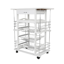 Four-layer Kitchen Trolley Cart Dining S