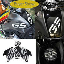 KODASKIN 3D Carbon Tank Pad Stickers Set Decals Side Knee Protectors for BMW G310GS
