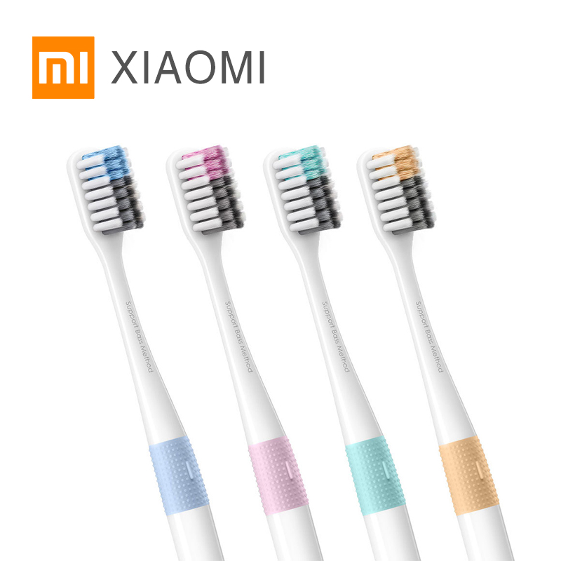 Original Xiaomi DOCTOR B Toothbrushs Mi Home 4 Color In 1 Kit Deep Cleaning Travel Box Included Soft-bristle For Smart Home