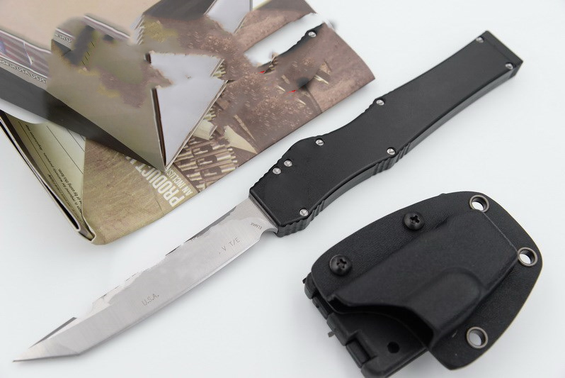 JUFULE Made HV 5 TD D2 blade aluminum handle camping survival outdoor EDC Tactical hunting tool dinner kitchen knife