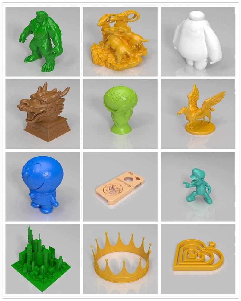 новые технологии fdm технологии печати акрил + металл 3д принтер высокая точность большой размер печати пруса i3 3д-принтер высокого качества