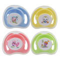 2 pcs Mamilo Chupeta Do Bebê Manequim Chupeta para Bebês Chupetas Engraçadas de Silicone Bebê Chupeta Mamilo Alimentação Clipes com Tampas