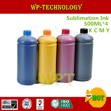 500ML*4 Sublimation ink Suit for Epson 4 color printer , heat transfer printing ink for mugs ,T shirt , Plastics etc
