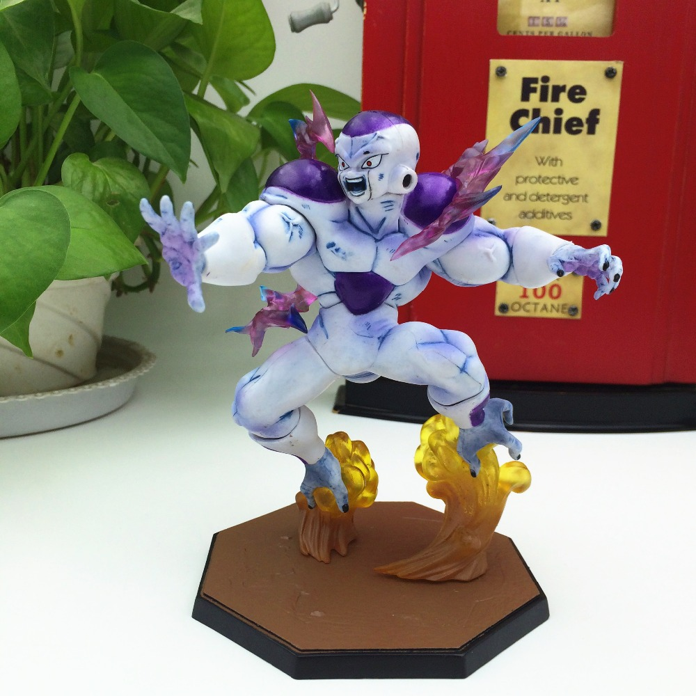 15cm Anime Dragon Ball Z Action Figur Frieza Freezer Combat Edition Juguete DragonBall Figur Son Goku Collectible Brinquedos