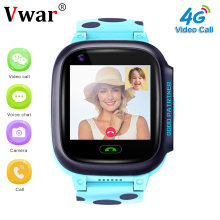 Vwar K9S 4G Children GPS Smart Watch Video call Wifi SOS Kids Clock Waterproof GPS Tracker Camera Baby Smartwatch VS Q50 Q90(China)
