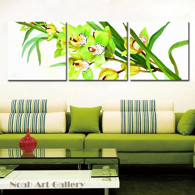Modern Decor Canvas Printings Flower Canvas Painting Large Spray