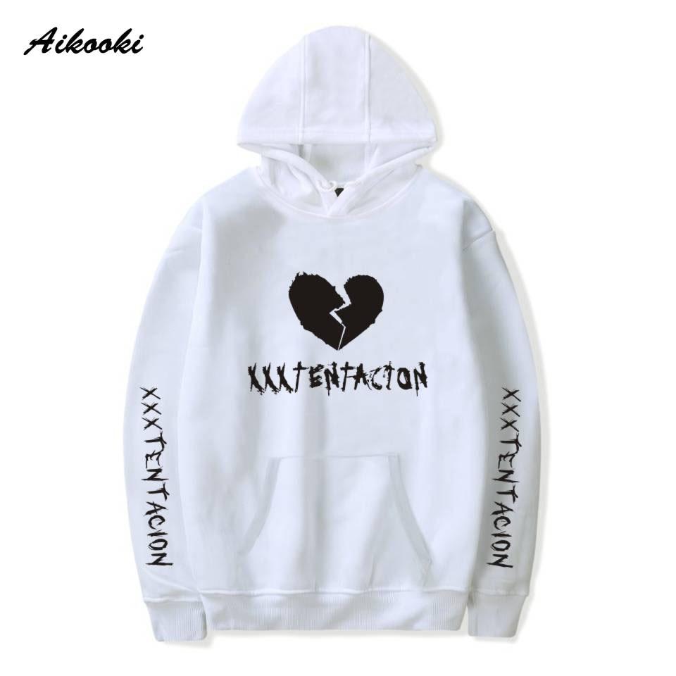 Aikooki Revenge Kill Hoodies Men Casual Hip Hop XXXTentacion Sweatshirt Bad Vibes Forever Traksuit Pullover Hoody Sudadera Tops