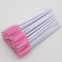 500pcs Nylon Eyelash Mascara Wands Applicator Brushes For Eyelash Extension Disposable Makup Brush Tools Accessories