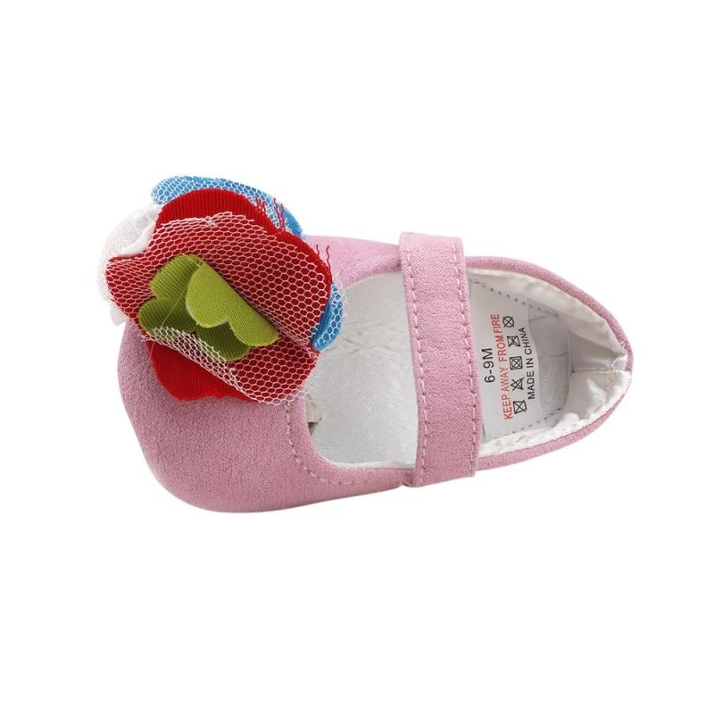 Summer Cute Toddler Newborn Baby Girl Leather Soft Sole Crib Girls Shoes Prewalker 0-18M