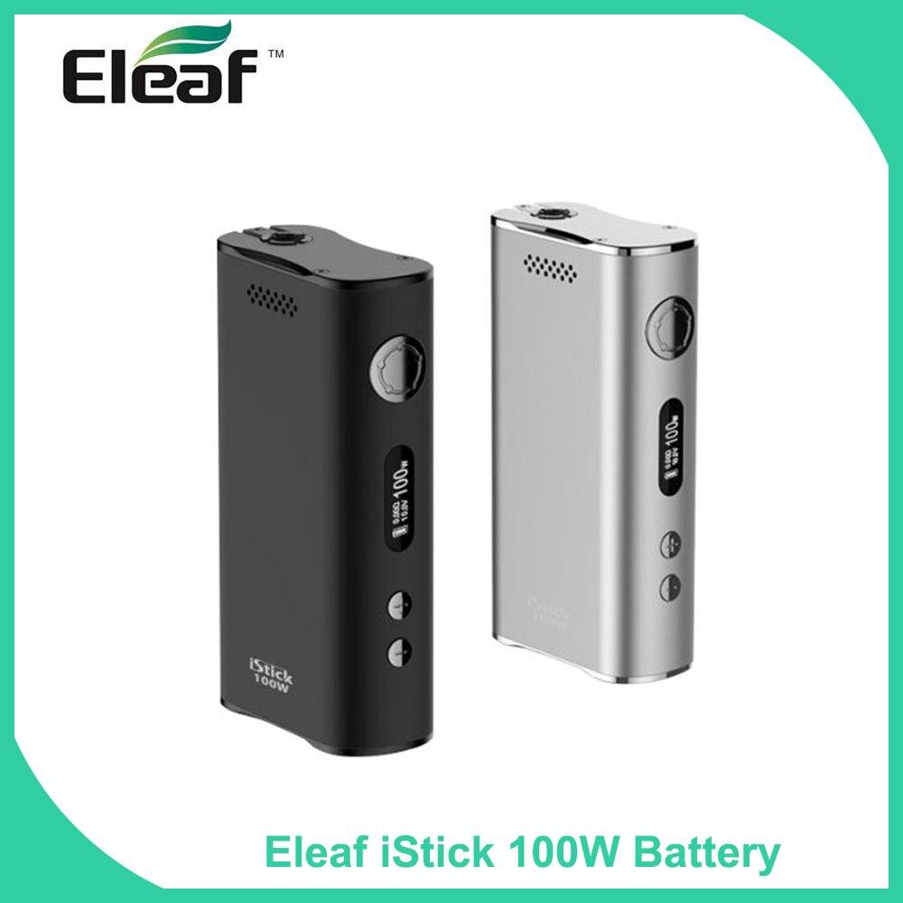 bilder für Großen Verkauf Original Eleaf 100 Watt iStick Box Mod 5-100 Watt 510 gewinde elektronische zigarette Batterie vs istick TC 100 watt Einfache pack