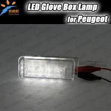 1X LED бардачку свет Привел автомобиль Лампы для Peugeot 1007 406 206 407 5008 207 (A7) 607 306 Новый 607 Новый 307 806 308 3008 Эксперт