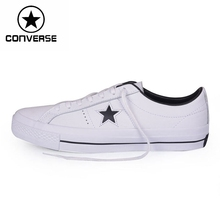 Original New Arrival 2016 Converse one star leather Unisex Skateboarding Shoes Sneakers