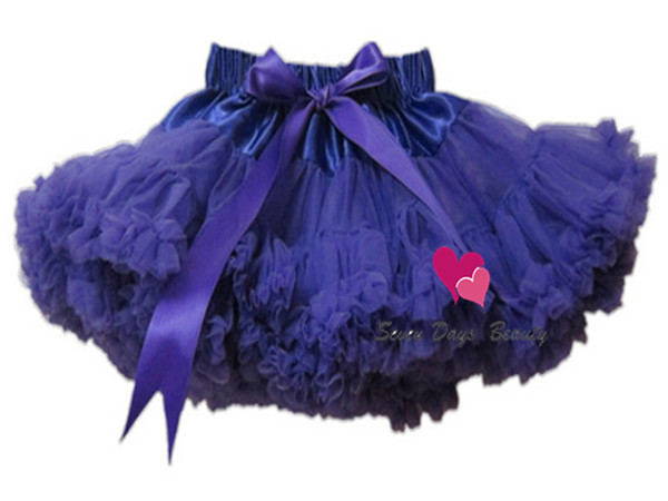 Fashion Baby kids girls fluffy dance pettiskirts cute chiffon tutu princess skirt Christmas party wear