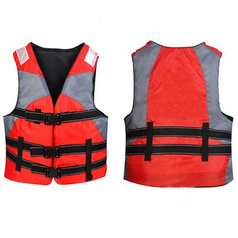 Oxford Jaqueta Tático Colete Salva-vidas Crianças Maiô Sobrevivência Flutuante Natação Puddle Jumper Adultos Homens de Barco De Pesca Caiaque Colete Salva-vidas