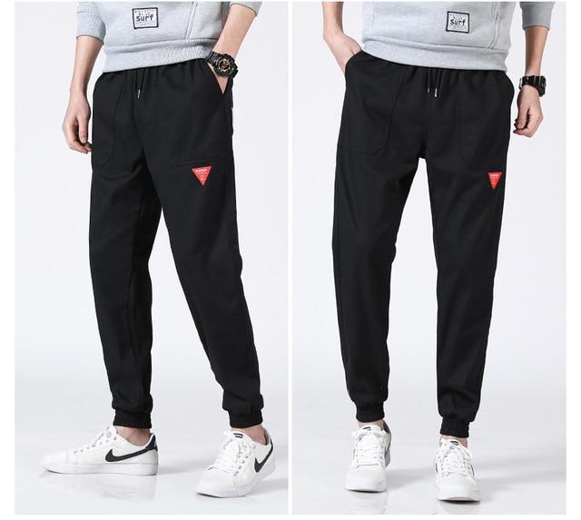 Bormandick 2018 otoño verano moda Pantalones casuales hombres de algodón  suelta y cómoda pantalones K78 38. Sitúa el cursor encima para ... 275c7858f2d