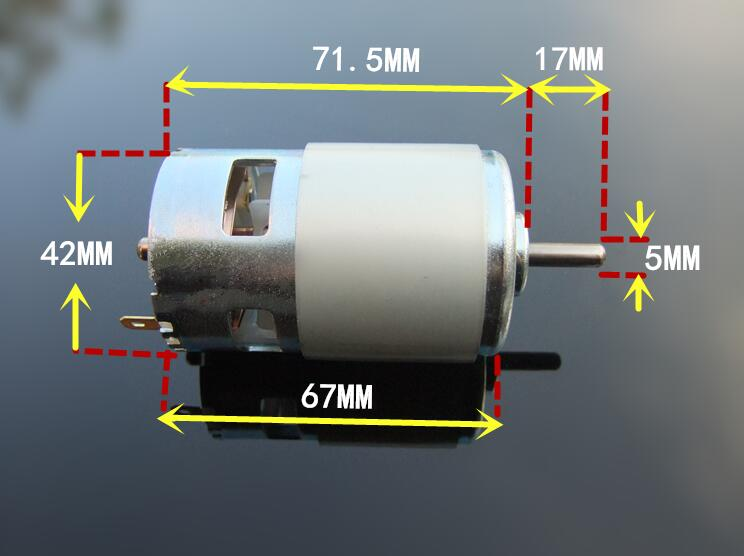 Free Shipping High speed 775 motor large torque 775 dual ball bearings DC motor 12V 24V for RC Car /boat 5sheets pack 10cm x 5cm holographic adhesive film fly tying laser rainbow materials sticker film flash tape for fly lure fishing