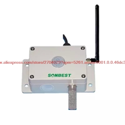 ZIGBEE wireless carbon dioxide, light illumination, temperature, humidity integrated sensor transmitter