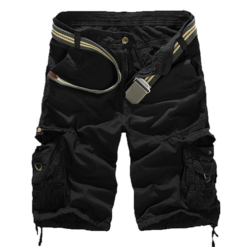 Mens Military Army Combat Trousers Tactical Work Pocket Camo Cargo Shorts