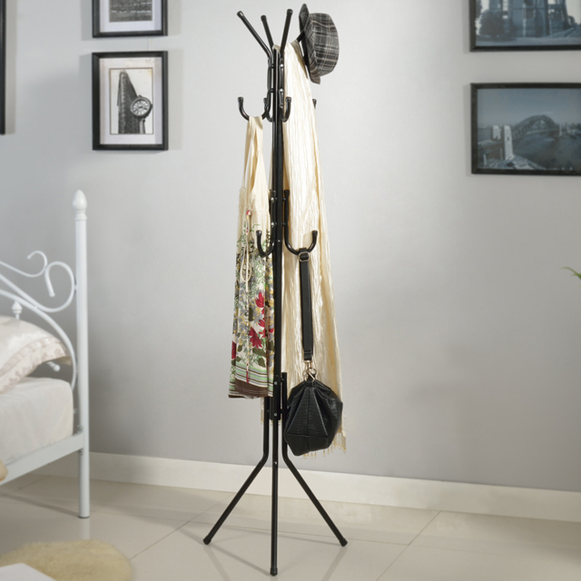 Fashion Coatrack Landing Racks Fashion Creative Bedroom Clothes Tree To Hang  Clothes Tree Iron Clothes Rack