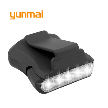 170 lumens multifunction led light lightweight compact usb rechargeable torch for cap light headlamp bicycle light High Power 5 Led Cap Head Torch Waterproof Headlamp 2000 Lumens Led Flashlight Head lamp light for Fishing Hunting