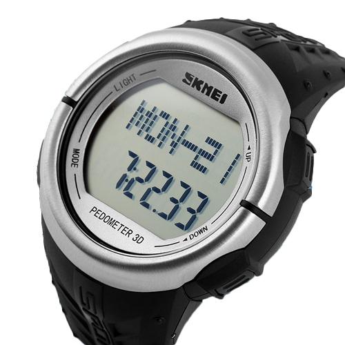 NOVO! Relógio Para Mulheres Dos Homens de Fitness Monitor de Freqüência Cardíaca E Pedômetro Esporte Relógios Digitais relógios de Pulso Calorias Contador Eletrônico