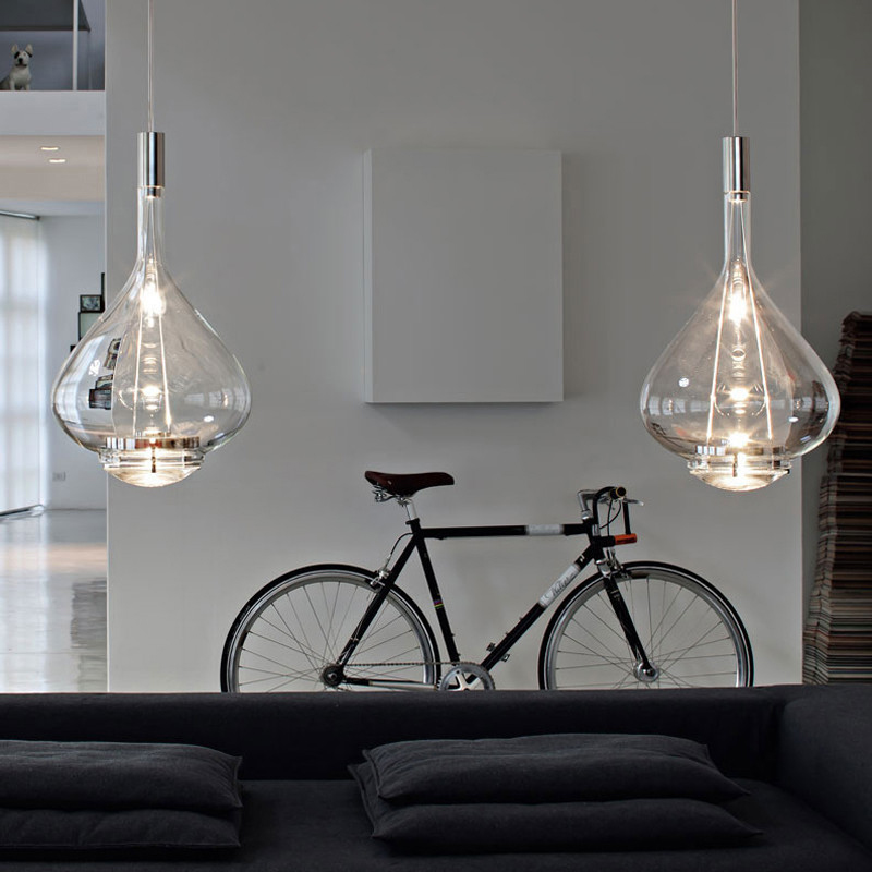 Modern denmark design minimalist deco pendant light creative glass LED hanging light kitchen dinner room cafe room bar lamp e27 in Pendant Lights from Lights Lighting