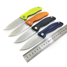 BGT F3 EVO Folding Knife G10 Handle Tactical Hunting Survival Pocket Flipper Knives Combat Camping EDC Tools With Ball Bearing