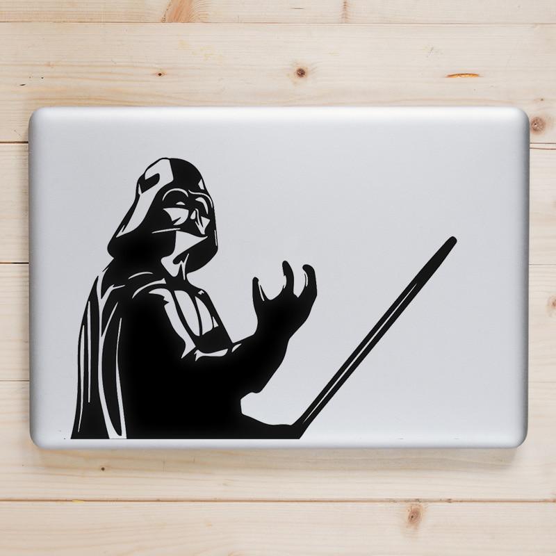 Star Wars Darth Vader Holding Laptop Decal for font b Apple b font font b Macbook