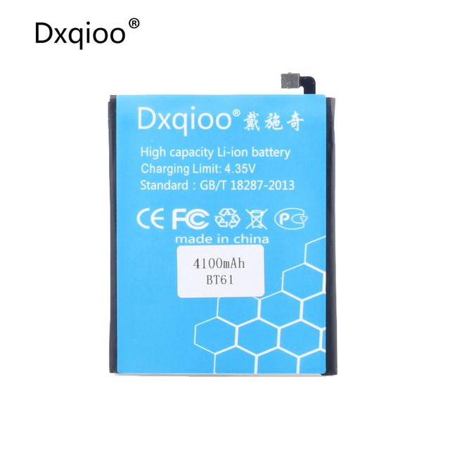 Dxqioo M3 note BT61 battery fit for meizu M3 note pro 4100mah bt61
