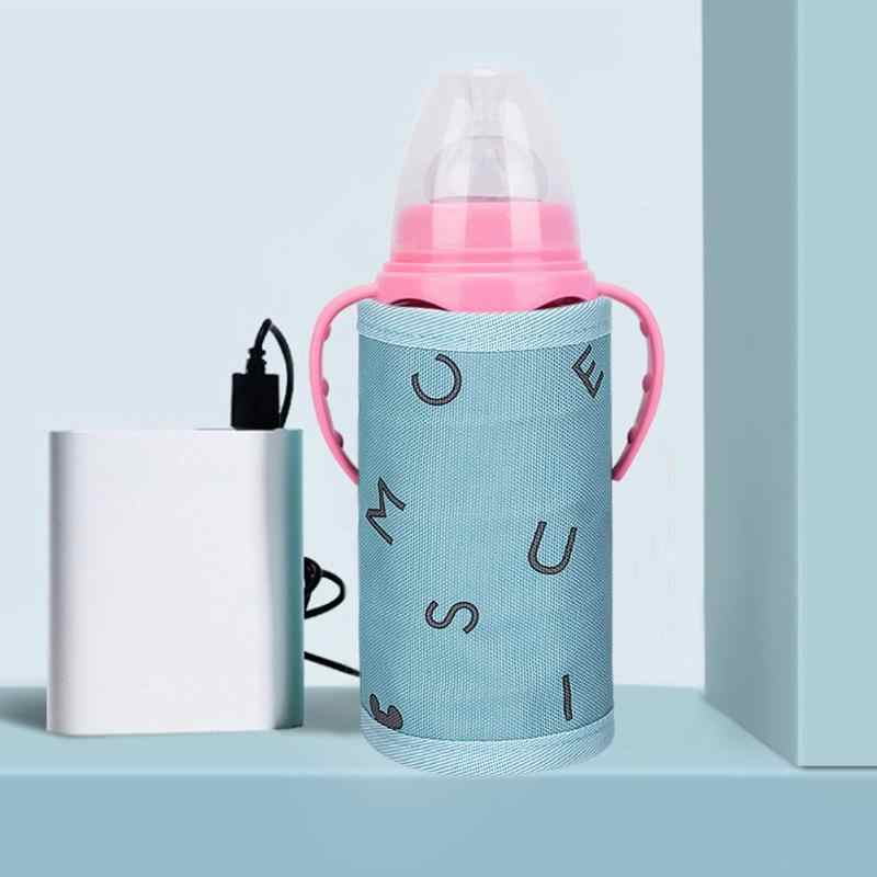 USB Baby Nursing Milk Water Bottle Warmer Travel Stroller Insulation Bags