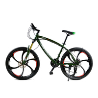 Mountain Bikes 26 Inch Two Disc Bicycle Men And Women Variable Speed Bike Students Six Knife